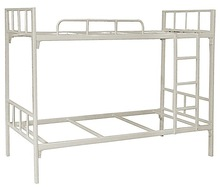2014 Cheap Dormitory Furniture Student Hostel Camp Metal Double Bunk Bed