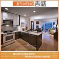 China color de negro moderno gabinetes de cocina lacado