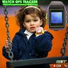 gps gsm two way communication sos call wrist watch gps tracker