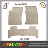 custom beige lexus gx470 car mats rubber china