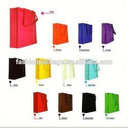 Fashion brand beauty color shopping bag Non Woven Fabric bag Eco fashion handbags, bags wholesale price