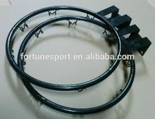 """8-loop 12"""" Breakaway Steel Basketball Rim"""