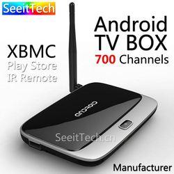 hot sales 2GB RAM 16GB ROM xbmc skype wifi android tv box