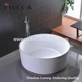 Sencillo redondo de acrílico bañera, Bañera para la decoración