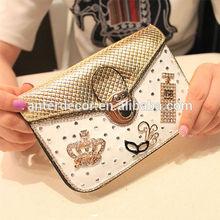 2014 pu leather ladies fashion handbags guangzhou wholesale tote bags