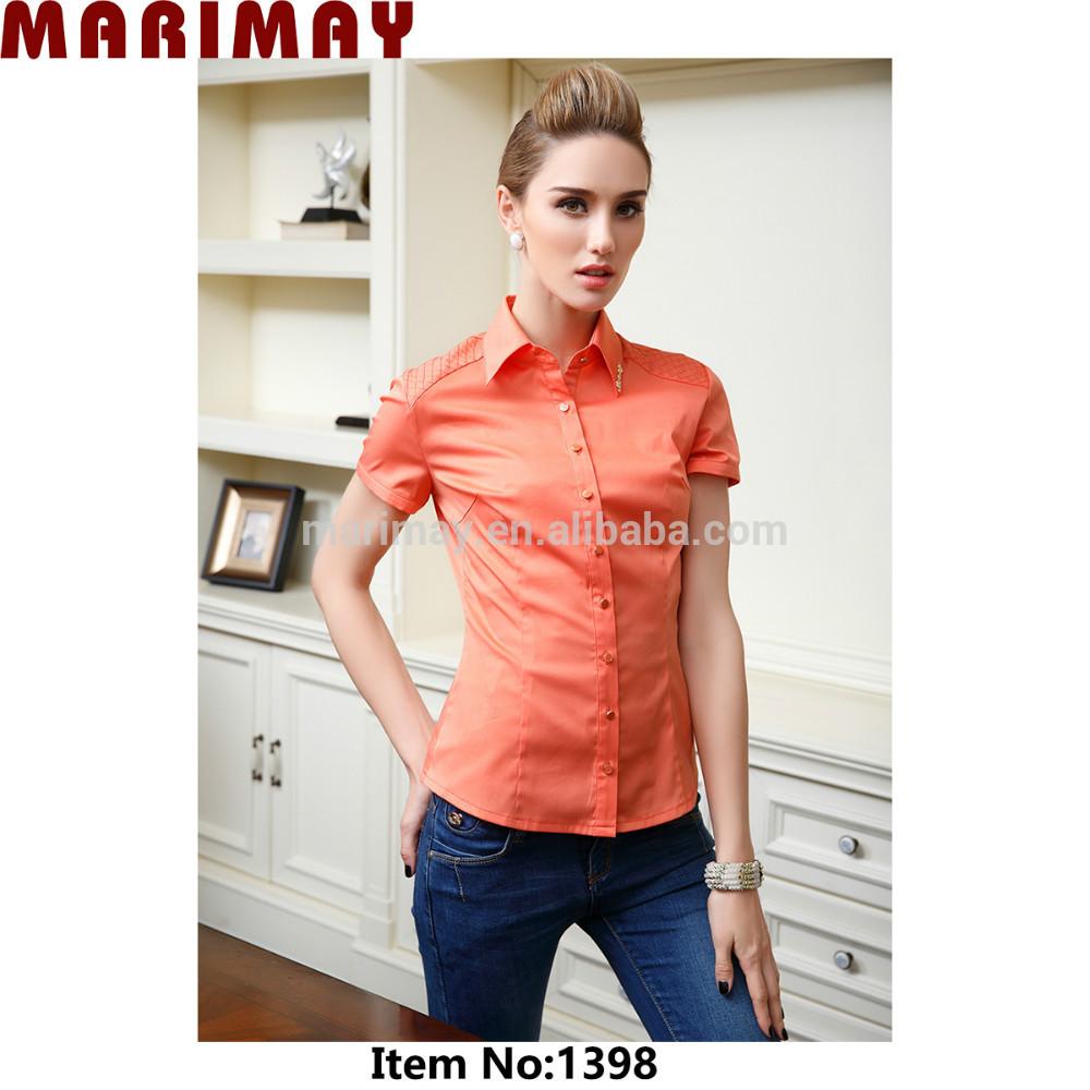 Blouse Design For Office Uniform 84