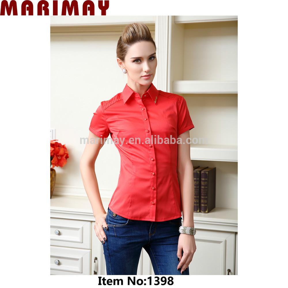 Blouse Design For Office Uniform 94
