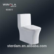 sanitary ware bathroom design one piece flushing bidet western style new model toilet