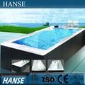 Hs-k609 mais barato ao ar livre grande tamanho claro acrílico piscina baratos