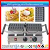 2014 new power hong kong waffle maker Hot kitchen equipment electric #201 stainless steel 90 invertable belgian waffle maker