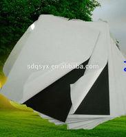 Waterproof photo abum PVC sheet White/black make by manufacturer