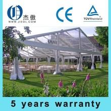 popular custom transparent wedding party tent with aluminum pole PVC fabric