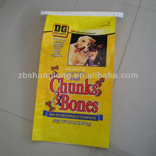 new product 25kg pp woven pet food bag for 2015