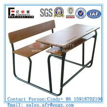 Commercial Bench Desk Attached,Direct Manufacturer of Elementary School Desk