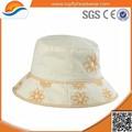 barato por atacado bordados personalizados chapéu de balde