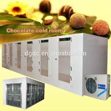 cámaras frigoríficas para el chocolate de la pu con paneles