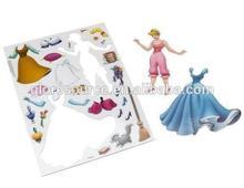 2014 vendita calda puzzle magnetico frigorifero puzzle magnete passò en71-123