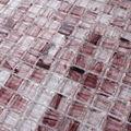 Lj jy-g-05 atacado telhas vitrificadas premium preço barato banheiro telha de mosaico de vidro cristal mosaico telha de assoalho