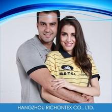 Polyester OEM Couple Polo Shirt