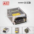 Constante aprobado por la ce ms-40-24 de doble salida de alimentación de 12v 24v
