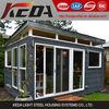 Hot selling Light Steel Villa Steel Frame Studio Office Shed Kiosk Prefab Kit Homes