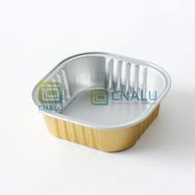 Long shelf life Aluminium Foil Wet Pet Food Tray with Lid