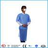 Nonwoven hospital patient disposable sterile surgical gown