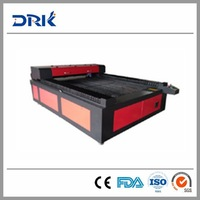 2014 fashion+high quality 1300*2500mm Co2 metal and no metal laser cutting machine with agent price
