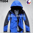 Mens cheap windproof waterproof winter jackets T04