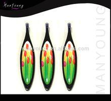 NEW design of plastic tweezers with color coating