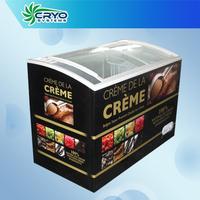 gelato display freezer , freezer ice cream , small ice cream freezer