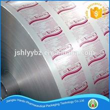 Primer and HSL coating ptp aluminum foil roll for medicine packaging