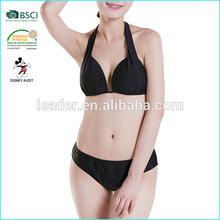 2014 Wholesale Good Quality Sexy Young Girls Black Bikini