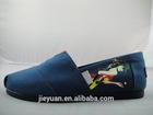 2015 Latest Rubber Sole Women Canvas Shoes