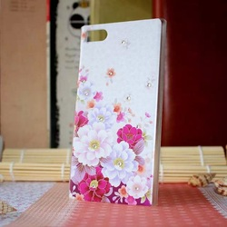 PC Crystal case for girls with china style ,cell phone cases for Samsung note3