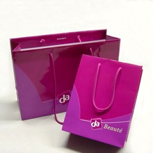 Luxury Art Paper Shopping Paper Bag with Offset Printing