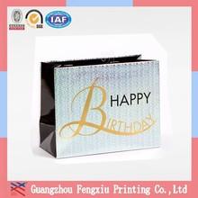 Honest Maker Cmyk Square Bottom Custom Large Paper Shopping Bag