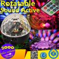 la parte superior 2014 18w popular de sonido activado discoteca led de luz para la venta