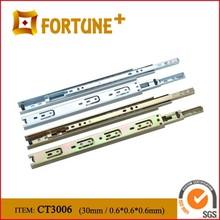 CT3006 Mini 30MM Width Bearing Drawer Slides Drawer Roller Slides