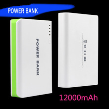 made in china smartphone portable power bank 12000mah mobile power bank