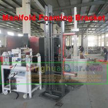 solar water heater manifold foaming bracket