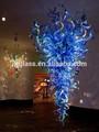 Sıcak satış, modern el üfleme sanatı cam avize