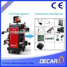 DECAR factory supply A8 CCD wheel alignment machine