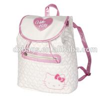 2014 fashion girl school bag hello kitty