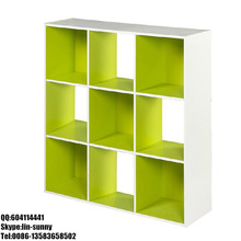 Cheap diy cube wooden ikea bookcase