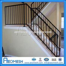 Elegant & High Quality aluminum hand railing, aluminum profile rail, aluminum decorative railing