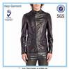 new design faux leather slim fit men leather jacket