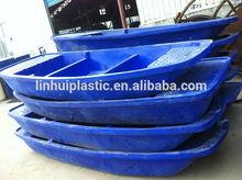 4m rotomoulded UV resistent plastic fish kayak