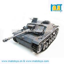 Mato 1/16 2.4G 100% Metal Stug III Tank RC