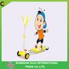 2014 yellow best-seller kick scooter/ 4 wheel kick scooter/ children kick scooter